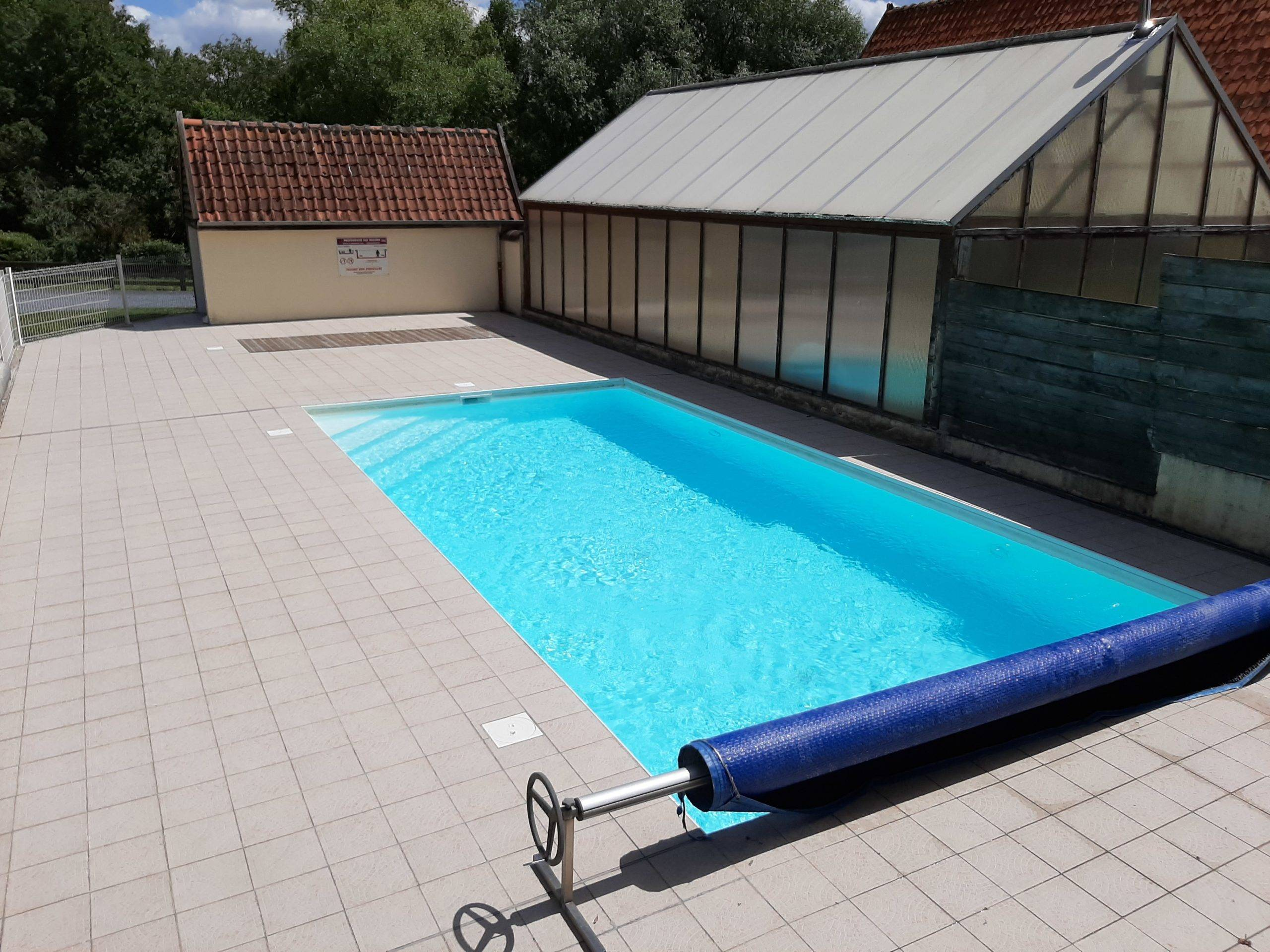 Camping La Chaumière piscine